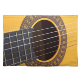 Acoustic Guitar Placemat
