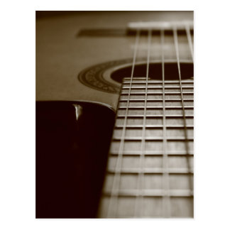 Acoustic Guitar Post Cards
