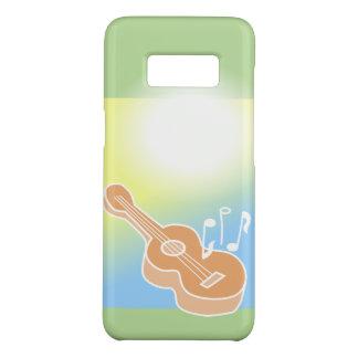 Acoustic Guitar S8 Case Music Notes Ombre Colors