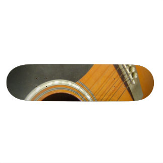 Acoustic Guitar Skate Board