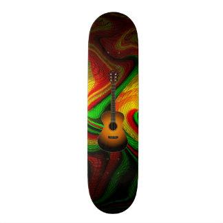Acoustic Guitar Skateboard Decks