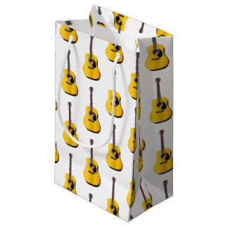 acoustic guitar small gift bag