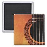 Acoustic Guitar Square Magnet