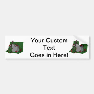 acoustic guitar suitcase green.png bumper sticker
