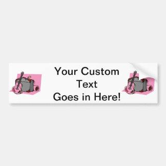 acoustic guitar suitcase pink.png bumper sticker