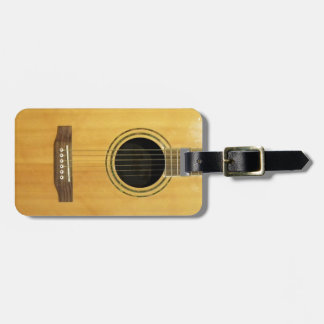 Acoustic Guitar Tag For Bags