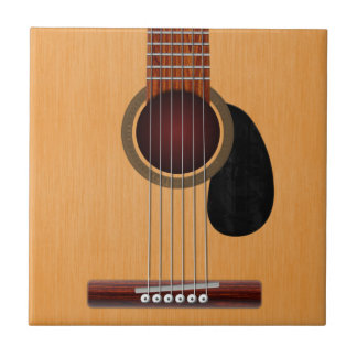 Acoustic Guitar Tile