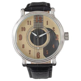 Acoustic Guitar Watch