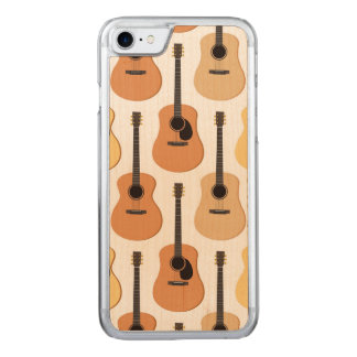 Acoustic Guitars Pattern Carved iPhone 8/7 Case