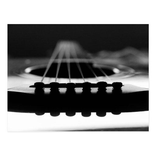 Acoustic Guitars Post Card
