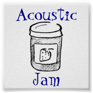 Acoustic Jam Poster