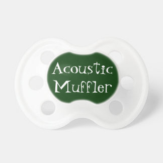 Acoustic Muffler Pacifier