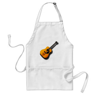 Acoustic Vintage Guitar With Musician Custom Name Standard Apron