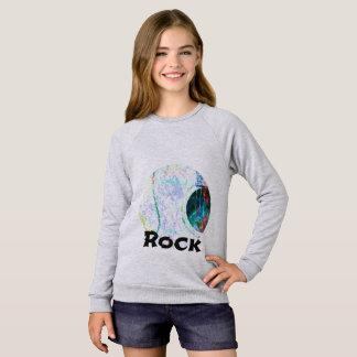 Acoustic Whitewash Rock Sweatshirt