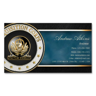 Acquisition Corps (AAC) Regimental Insignia [3D] Magnetic Business Cards