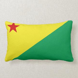 Acre flag Brazil region province symbol Lumbar Cushion