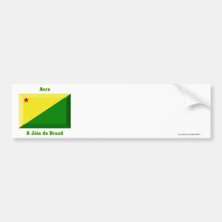 Acre Flag Gem Bumper Sticker
