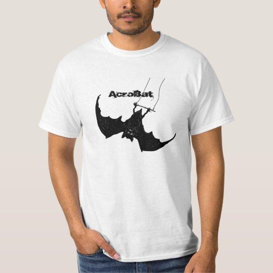 AcroBat, a bat on a trapeze T-Shirt