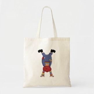 Acrobat Circus Clown Canvas Bag