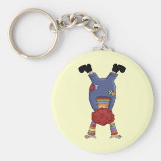 Acrobat Circus Clown Key Ring