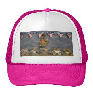 Acrobat Patriotic Bears Hat