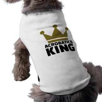 Acrobatics King Sleeveless Dog Shirt