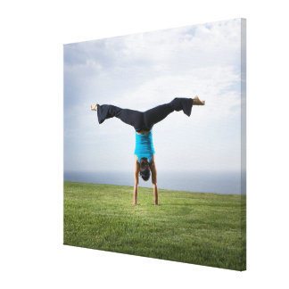 Acrobats and Contortionists 2 Canvas Print