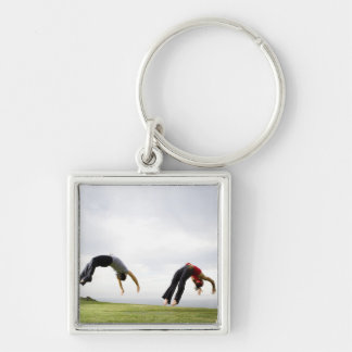 Acrobats and Contortionists 3 Key Ring