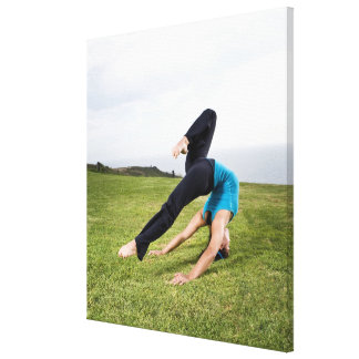 Acrobats and Contortionists Canvas Print