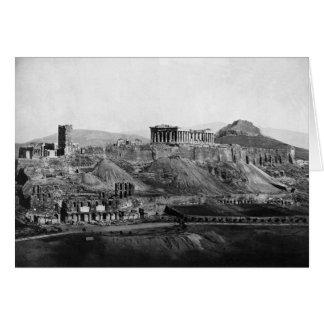 Acropolis ~ Acropolis of Athens Greece 1865 Card