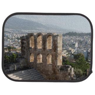 Acropolis Ancient ruins overlooking Athens Car Mat