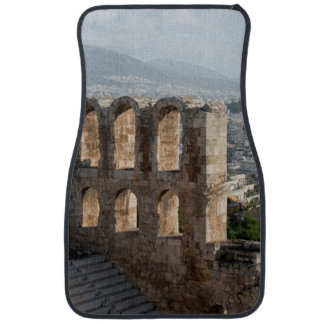 Acropolis Ancient ruins overlooking Athens Car Mat