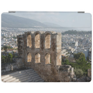 Acropolis Ancient ruins overlooking Athens iPad Cover