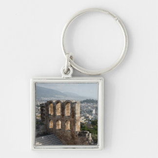 Acropolis Ancient ruins overlooking Athens Key Chains