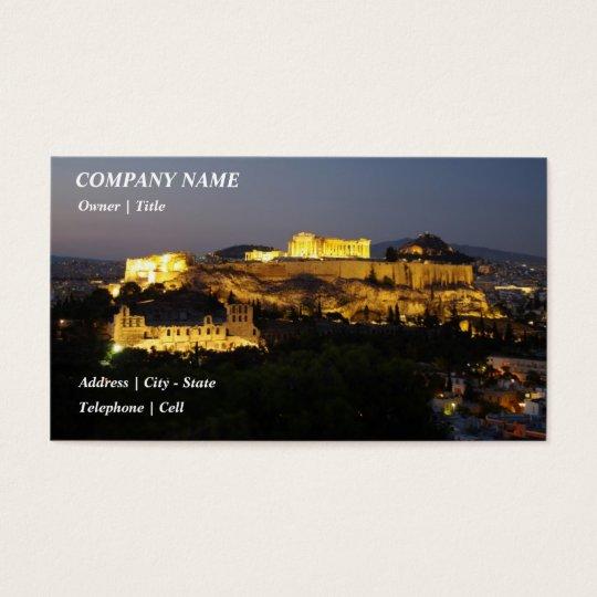 Acropolis – Athens Business Card