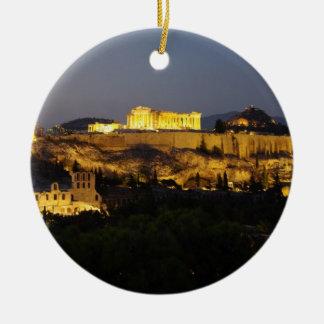 Acropolis – Athens Christmas Ornament