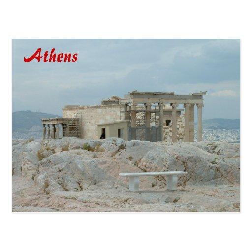 Acropolis - Athens Postcard