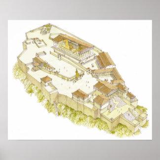 Acropolis Athens Poster
