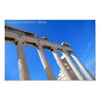 Acropolis Erechtheion - Athens Photo Print