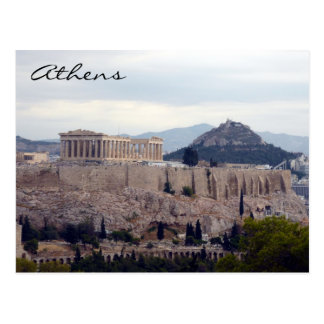 acropolis hill post cards