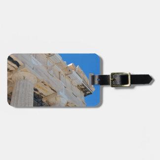 Acropolis Luggage Tag