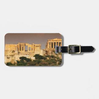 acropolis--of--athens--Aggelin--jpg Luggage Tag