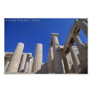 Acropolis Propylaea - Athens Art Photo