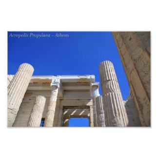 Acropolis Propylaea - Athens Photo Print