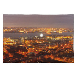 Across Liverpool to the River Mersey & Wirral Placemat