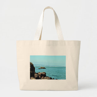 Across the bay canvas bags