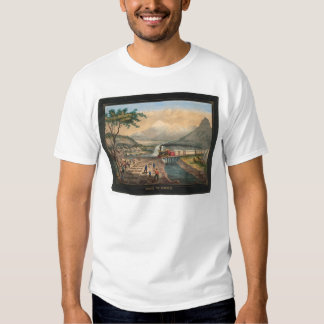 Across the Continent (0005A) T-shirts