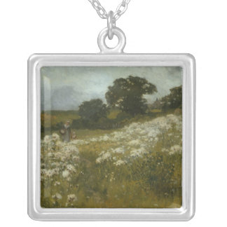 Across the Fields Silver Plated Necklace