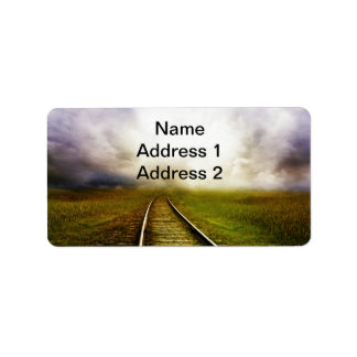 Across The Miles Address Label