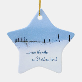 Across the Miles Christmas Ornament